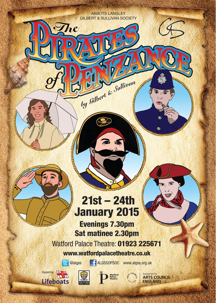 Our Latest Production – The Pirates of Penzance