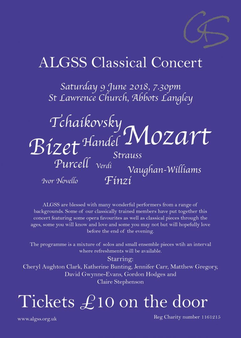 ALGSS Classical Concert